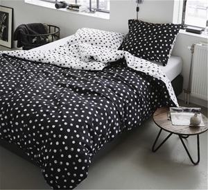 Printed Quilt Cover Set Inka - QUEEN