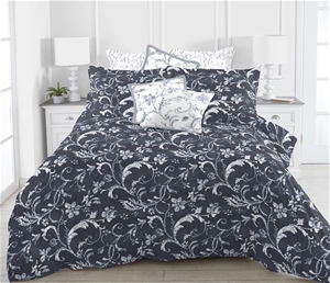 Printed Quilt Cover Set Romantica - QUEE