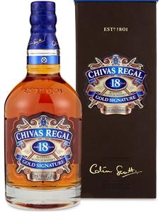 Chivas Regal `18YO` Gold Signature Scotc