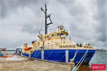 HMAS SEAHORSE HORIZON FLEET TRAINING & SUPPORT VESSEL