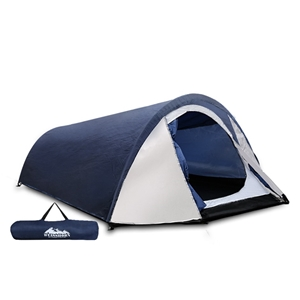 Weisshorn 2-4 Person Canvas Dome Camping