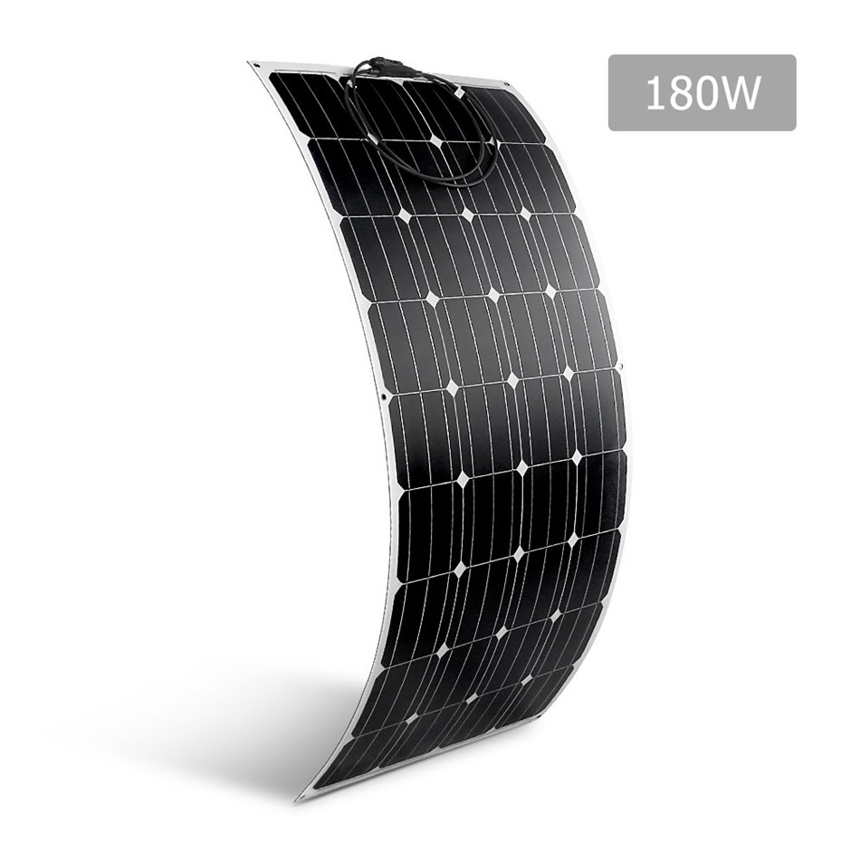 Solraiser 180W Water Proof Flexible Solar Panel