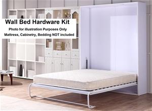 Palermo Queen Size Wall Bed Mechanism Ha