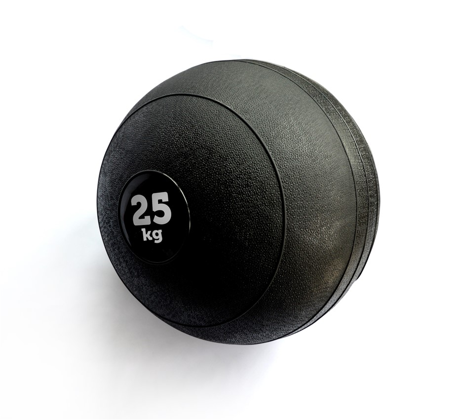 25kg Slam Ball No Bounce Crossfit Fitness MMA Boxing BootCamp