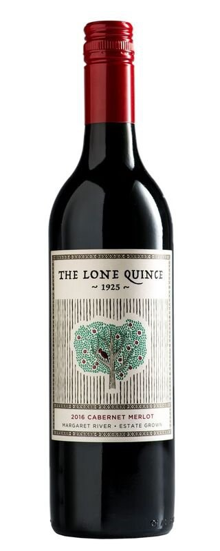 The Lone Quince 1925 Cabernet Merlot 2016 (12 x 750mL) WA