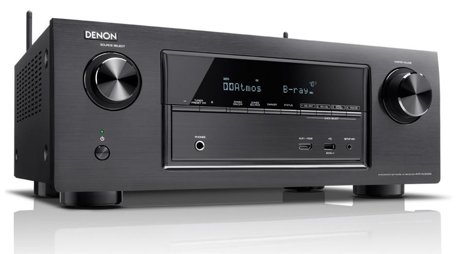 Denon AVR-X2200 7.2CH Full Ultra HD 4K WiFi AV Receiver (Black)