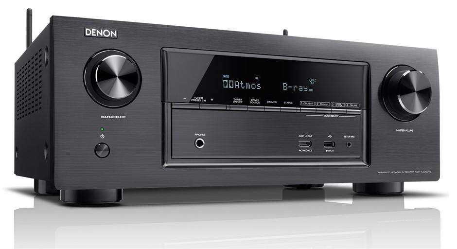 Denon AVR-X2300 7 x 150W Full 4K Ultra HD WiFi AV Receiver (Black)
