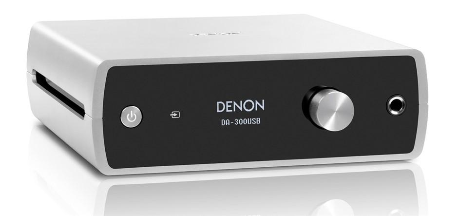 Denon DA-300USB High Resolution Audio USB-DAC and Headphone Amplifier
