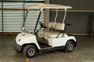Golf cart 2 seater petrol 2005 yamaha model g22a s no for Yamaha golf cart id