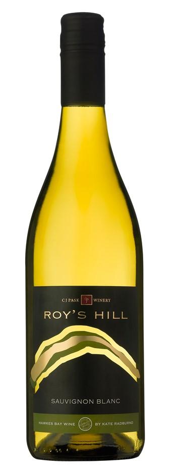 Roys Hill Sauvignon Blanc 2017 (12 x750mL) Hawkes Bay NZ. Screwcap Closure.
