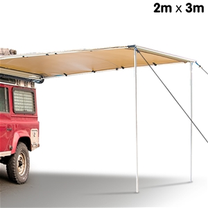 Wallaroo 2m x 3m Car Side Awning Roof To