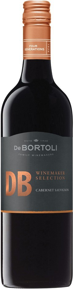 De Bortoli DB Winemaker Selection Cabernet 2016 (6 x 750mL), SE AUS.