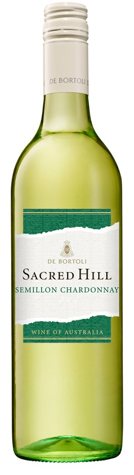 De Bortoli `Sacred Hill` Semillon Chardonnay 2018 (12 x 750mL), NSW.