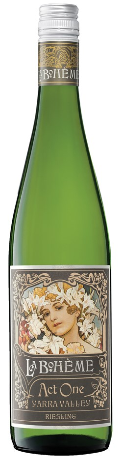 De Bortoli `La Boheme Act 1` Riesling 2019 (6 x 750mL), Yarra Valley, VIC.