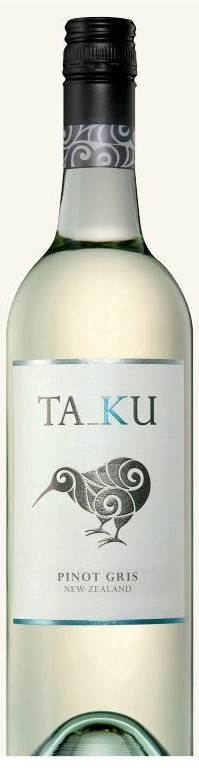 Ta_Ku Pinot Gris 2018 (6 x 750mL), Marlborough. NZ.