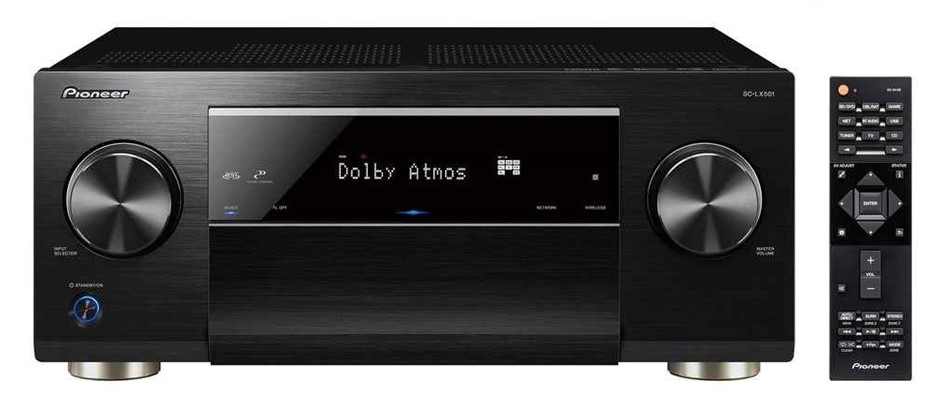 Pioneer SC-LX501 7.2CH Class D Network AV Receiver with WiFi & Bluetooth