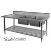Unused Stainless Steel Sink 1500 x 600