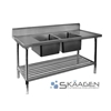Unused Stainless Steel Sink 1700 x 600