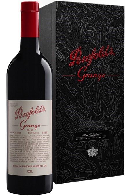 Penfolds `Grange Bin 95` Shiraz 2013 (1 x 750mL giftboxed), SA.