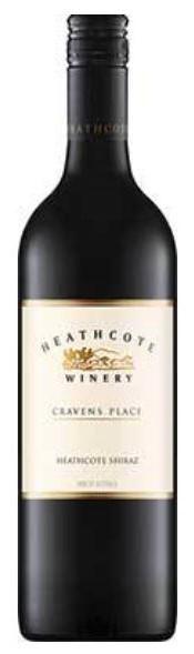 Heathcote Winery `Cravens Place` Shiraz 2017 (6 x 750mL), Heathcote, VIC.