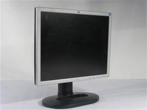 HP L1925 19` TFT- Flatpanel Monitor, Black/Silver, No Power Cable, No VGA C