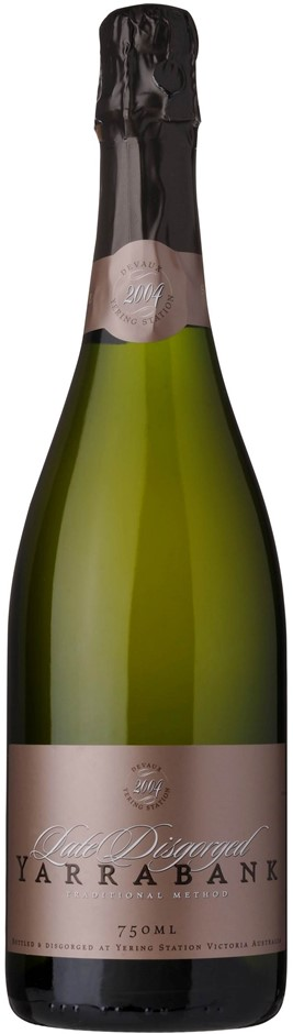 Yarrabank `Late Disgorged` Sparkling 2007(6 x 750mL), Yarra Valley, VIC.