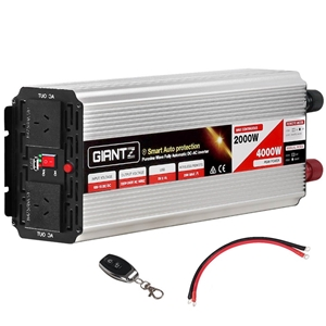 Giantz Power Inverter 2000W/4000W Pure S