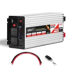 Giantz 3000W Puresine Wave DC-AC Power I