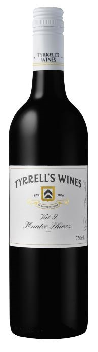 Tyrrell's `Vat 9 ` Shiraz 2016 (6 x 750mL), Hunter Valley, NSW