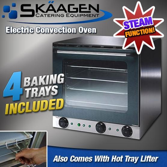 """Unused SKAAGEN Heavy duty """"Fan Forced"""" Electric Oven With """"Steam"""" Function"""