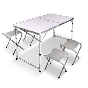 Portable Folding Camping Table and Chair
