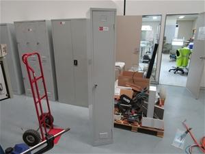 1 Door Metal Locker Cabinet (as new cond