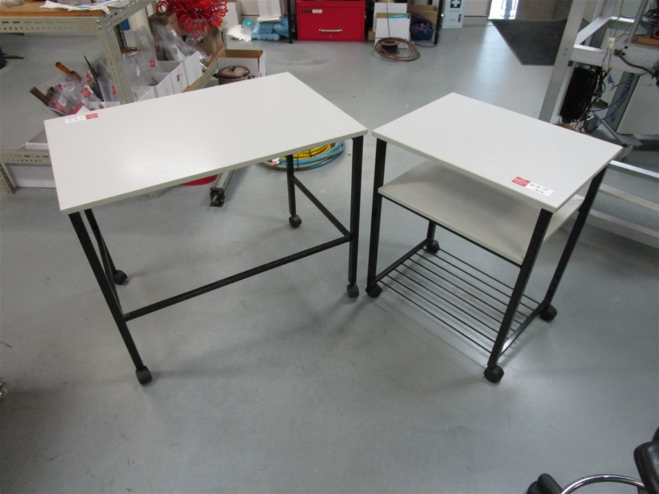 Qty 2 x Mobile Tables