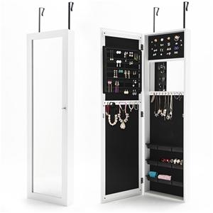 Mirror Jewellery Wall Cabinet WALLIS - W