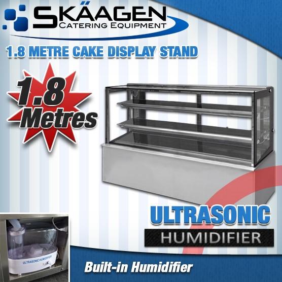 Unused Cake Display - 1800mm