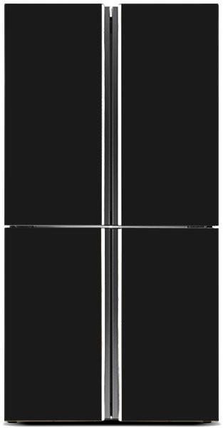 Hisense 695L French Door Fridge (HR6CDFF695GB) (Black)