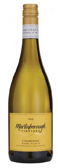 Martinborough Home Block Chardonnay 2015 (6 x 750mL) Martinborough