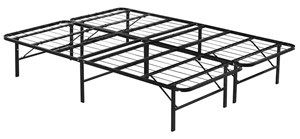 Queen Folding Metal Bed Frame Storage Pl
