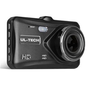 UL Tech 4 Inch Dual Camera Dash Camera -