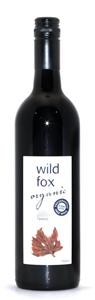 Wild Fox (Organic) Shiraz 2013 (24 x 187