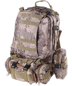 Heavy Duty Camo Outdoor Back Pack 55cm x