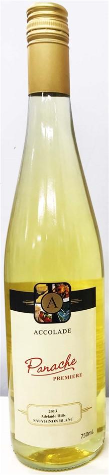 Accolade `Panache Premiere` Sauvignon Blanc 2013 (6 x 750mL) Adelaide Hills