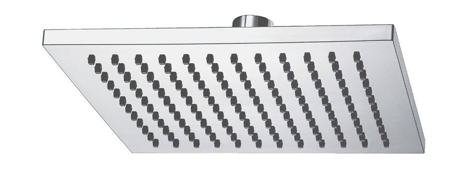 Monsoon Showers Large Square Shower Head - 200 mm