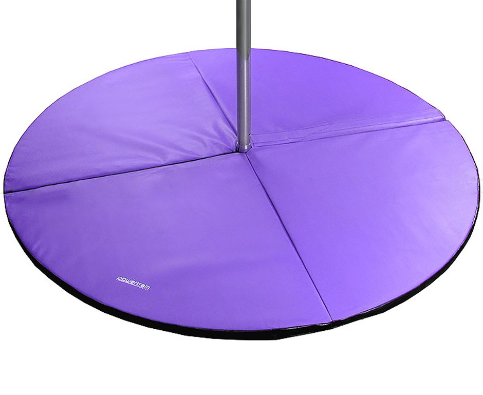 Powertrain Dance Pole Safety Mat - Purple