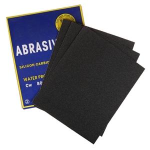 100 x Sheets Abrasive Paper, Waterproof