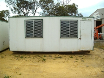 Unreserved Portable Buildings and Sewage Holding Tanks