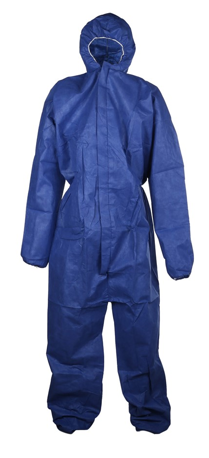 25 x MSA Disposable Coveralls, Size 3XL with Hood & Zip Front Closure Breat