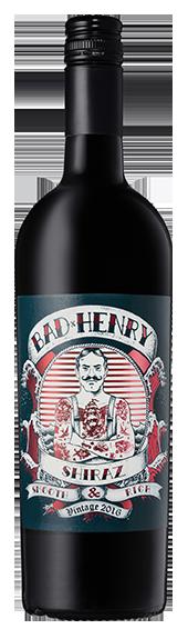 Bad Henry Shiraz 2016 (6 x 750mL), SE AUS.