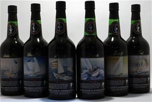 Hardy's America`s Cup 6 bottle Set Vinta