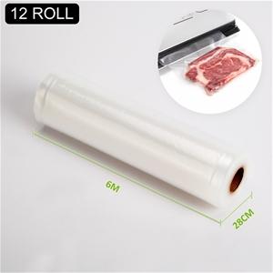 12x Vacuum Food Sealer Roll - 6m x 28cm